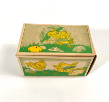 Load image into Gallery viewer, Vintage Easter Chick Cookie, Candy, Spring Gift Box || Fully Illustrated