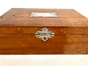 Beautiful Briggs Bros, Rochester, ANTIQUE FLOWER SEED BOX, Gold Medal