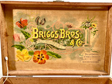 Load image into Gallery viewer, Beautiful Briggs Bros, Rochester, ANTIQUE FLOWER SEED BOX, Gold Medal