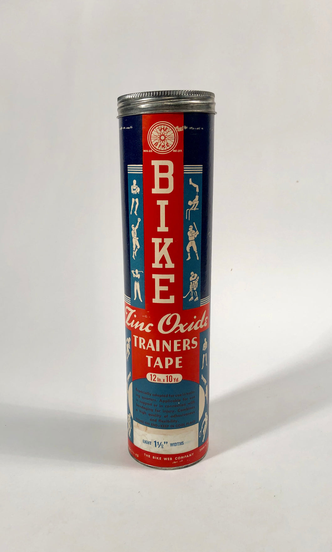 BIKE Zinc Oxide Trainer's Tape Tube Package || The Bike Web Co.