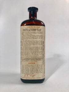 WRIGHT'S CONDENSED LIQUID SMOKE Bottle, The E.H. Wright Co. Limited || Kansas City, Mo.