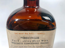 Load image into Gallery viewer, WRIGHT'S CONDENSED LIQUID SMOKE Bottle, The E.H. Wright Co. Limited || Kansas City, Mo.