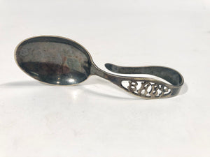 Antique BABY'S SPOON, Community Plate, Silver Spoon in Original Box