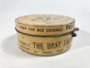 Victorian British PROPERT'S Specially Prepared LEATHER AND SADDLE SOAP Tin