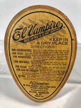 Load image into Gallery viewer, EL VAMPIRO Pest, Bug Powder Package with Original Powder || Peoria, Ill.