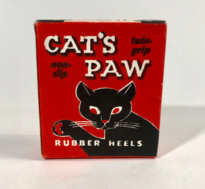 CAT'S PAW Non-Slip, Twin-Grip Rubber Heels Package, Box || Cowboy Boot Heels
