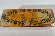 Load image into Gallery viewer, THE NEW MOON STOVE POLISH Product and Package, Box || F.L. Lewis & Co.