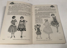 Load image into Gallery viewer, 1922 Edition of DENNISON'S How to Make Paper Costumes Booklet, Holiday, Costuming, Halloween, Party
