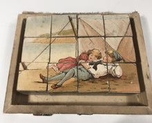 Load image into Gallery viewer, BY THE SEA Children's Book and Block Set in Original Box, Printed in Holland || Frederick Warne & Co.