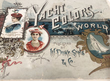 Load image into Gallery viewer, Victorian Rare Illustrated Book, YACHT COLORS OF THE WORLD, Costumes, Women || W. Duke Sons & Co.