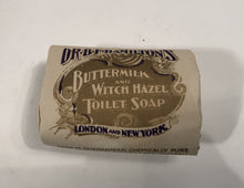 Load image into Gallery viewer, Dr. B.F. Hamilton's BUTTERMILK AND WITCH HAZEL TOILET SOAP Original Box with Three Original Soap Cakes
