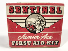 Load image into Gallery viewer, 1930'S SENTINEL Junior Ace FIRST AID KIT Tin, Aviation, Pilot