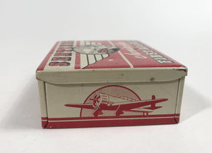 1930'S SENTINEL Junior Ace FIRST AID KIT Tin, Aviation, Pilot