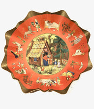 Load image into Gallery viewer, Fairytale Decorative Paper Plate, Wall Hanging, Hansel and Gretel, Mother Goose Etc. || Made in Germany