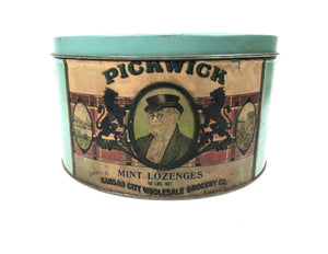 PICKWICK Mint Lozenges 10 lbs. Net Tin || Kansas City Wholesale Grocery Co.