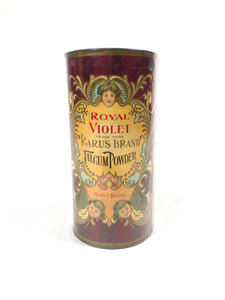 Royal Violet RARUS Brand TALCUM POWDER Cosmetic Tin || Contains Original Product