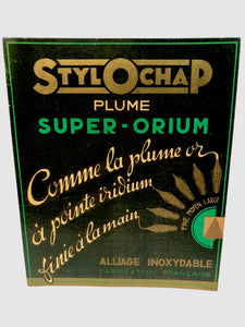 French STYLOCHAP Plume Super-Orium, Stainless Alloy PEN POINT Attachment Store Advertisement