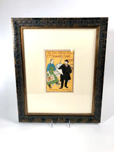 Load image into Gallery viewer, 1897 C.C. MEINHOLD & SONS Framed Litho, Hermann Behrens, Das Moderne Plakat