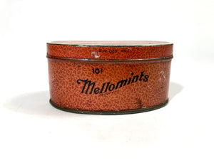 MELLOMINTS Satin Finish Candy TIN || Brandle Smith Co., Philadelphia, Pa.
