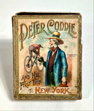 Load image into Gallery viewer, Antique 1890's PETER CODDLE & His First Trip To New York CARD GAME, McLoughlin Bros.