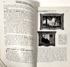 CAMPANA Amateur Artist's Encyclopedia Booklet || Instructions on all Popular Branches of Art