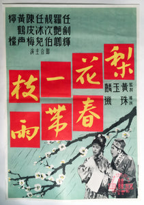 1950s Vintage Chinese Movie Poster, Blossoms - TheBoxSF