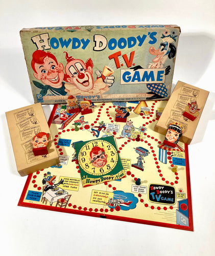 Vintage 1950's HOWDY DOODY TV Children's Board GAME, Milton Bradley