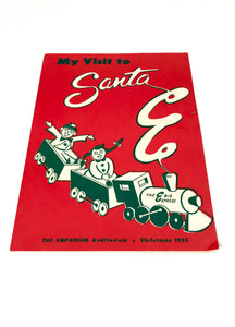 Christmas 1952: MY VISIT TO SANTA, Billy's Picture with Santa || The Emporium Auditorium