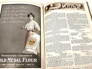 1910 Original GOLD MEDAL FLOUR Cook Book || Washburn-Crosby Co.