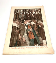 Load image into Gallery viewer, 1905 THE YOUTH'S COMPANION THANKSGIVING Number, VOLUME 70 NO. 46 || Arthur E. Becher Cover