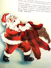 Load image into Gallery viewer, 1951 SANTA CLAUS IN TOYLAND Mechanical Children's Holiday Book