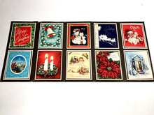 Load image into Gallery viewer, 1950's Personal CHRISTMAS CARDS Sample Book, Ten Designs || Hye-Quality Card Co.