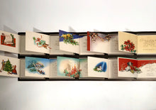 Load image into Gallery viewer, 1950's Personalized CHRISTMAS CARDS Sample Book, Ten Designs || Hye-Quality Card Co.