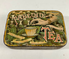 Load image into Gallery viewer, Antique Victorian TABLOID TEA Tin A, Empty