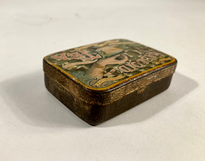Antique Victorian TABLOID TEA Tin A, Empty