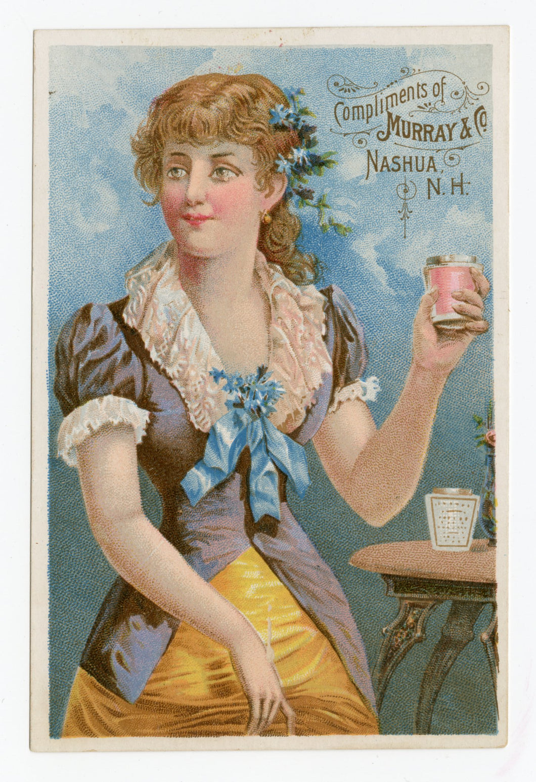 Victorian Murray & Co. Manufacturing Chemists, Quack Medicine Trade Card