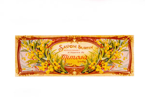 Antique SAVON SURFIN Mimosa French SOAP Label