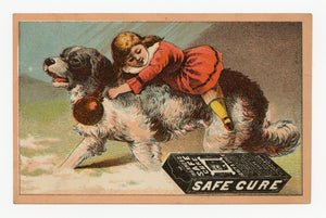 Victorian Warner's Safe Cure, Quack Medicine Trade Card || Pharmacy