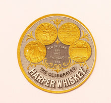 Load image into Gallery viewer, Old Vintage, Celebrated HARPER WHISKEY Label, New Orleans and Chicago, Alcohol - TheBoxSF
