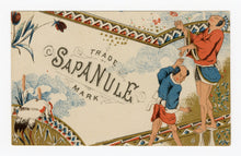 Load image into Gallery viewer, Victorian Sapanule, Quack Medicine Trade Card || Japanese, Crane