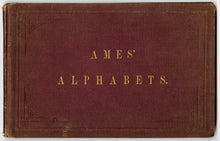 Load image into Gallery viewer, 1879 Antique AMES' ALPHABETS Full Book PDF ONLY, Typography, Lettering, Design
