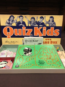 Old Vintage, Quiz Kids Master Mind BOARD GAME - TheBoxSF