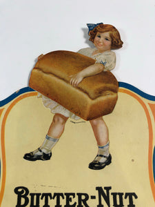 Image of Butter-Nut Bread girl holding bread