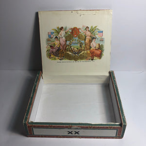 Vintage and Great Mantequilla Cigar Box