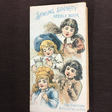 Load image into Gallery viewer, Old vintage SEWING Society Needle Book | Clothes - TheBoxSF