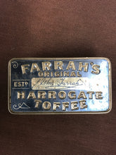 Load image into Gallery viewer, Vintage Farrah's Original Harrogate Toffee Tin - TheBoxSF