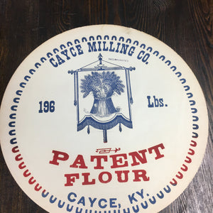 Old, PATENT FLOUR Label, Cayce Milling Co., Vintage - TheBoxSF