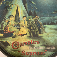 "Load image into Gallery viewer, CAMPFIRE MARSHMALLOWS ""Supreme"" Tin Packaging 