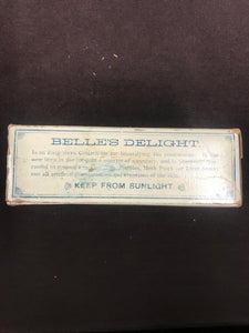 Beautiful Vintage Brandon's Belle's Delight Packaging - TheBoxSF