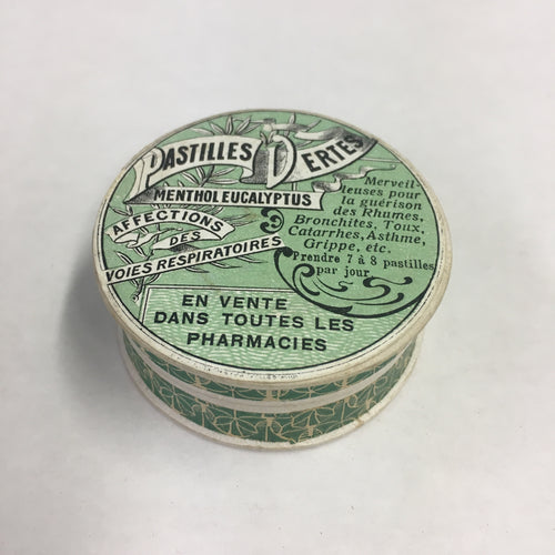 Old Pastilles Dertes MENTHOL EUCALYPTUS Packaging, Pharmacy, Respiratory Diseases